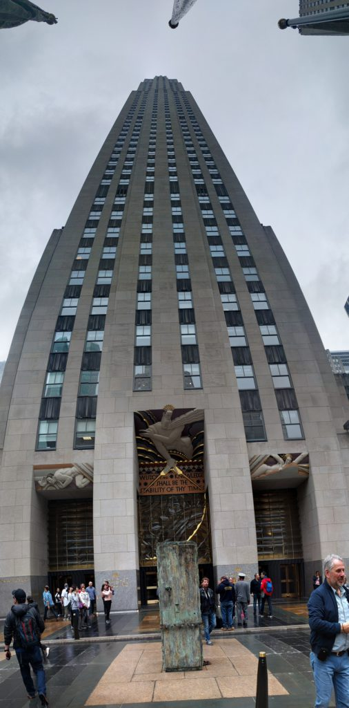 USA, New York, Manhattan, Rockefeller Center