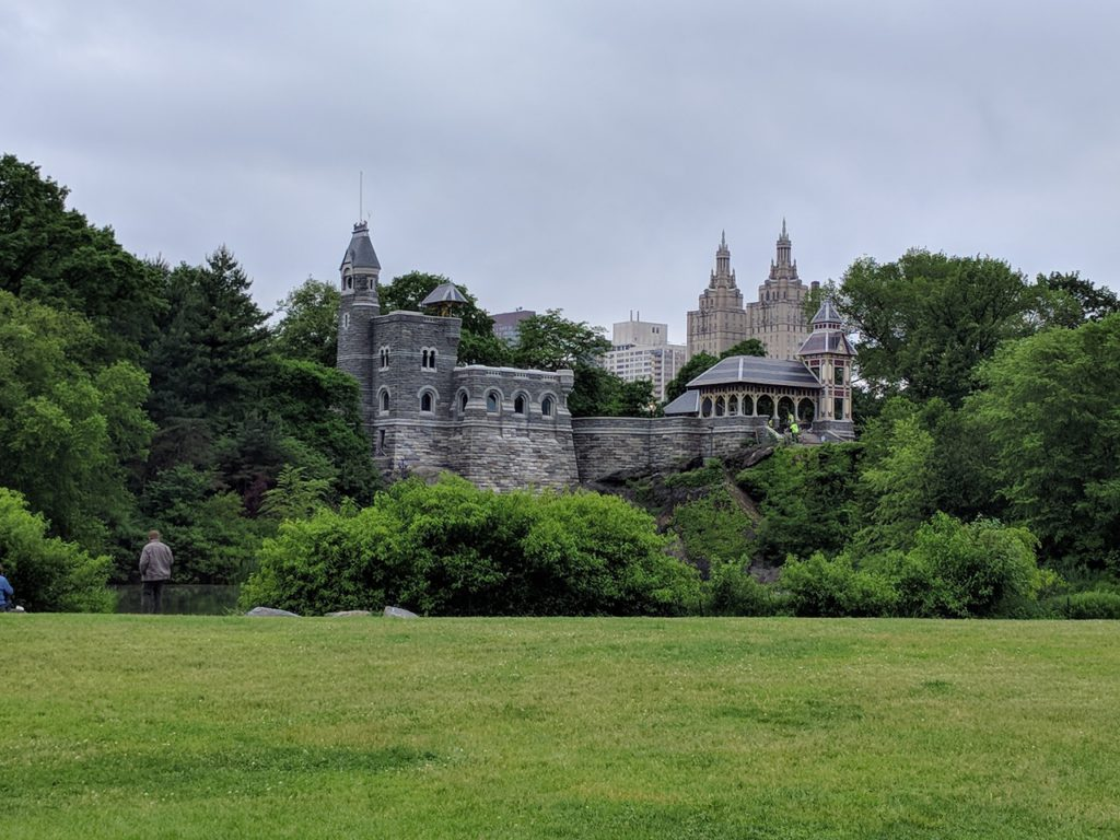 USA, New York, Central Park, Belvedere Castle
