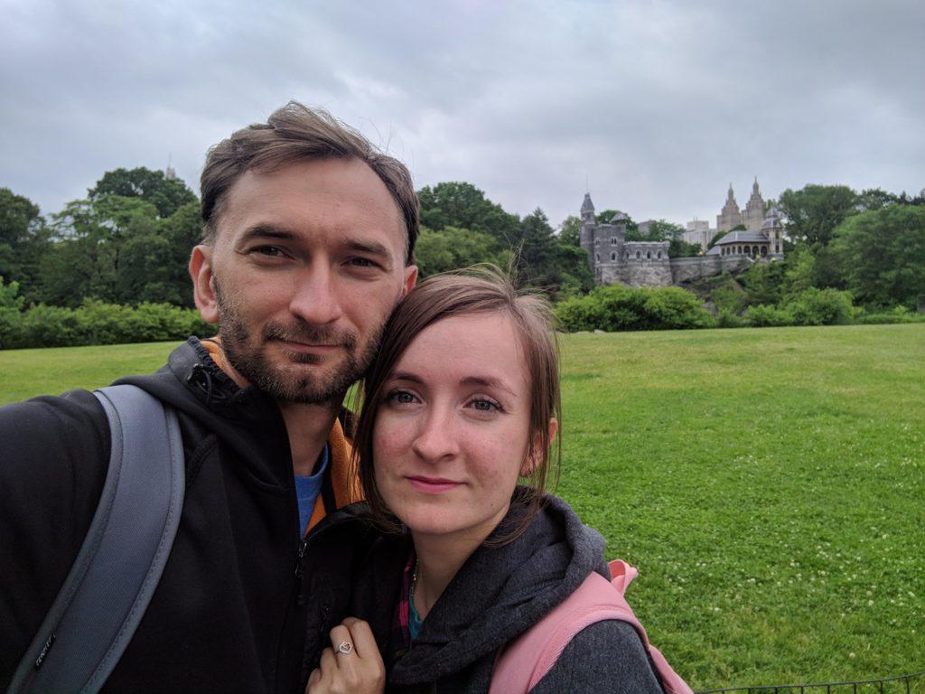 USA, New York, Central Park, Belvedere Castle