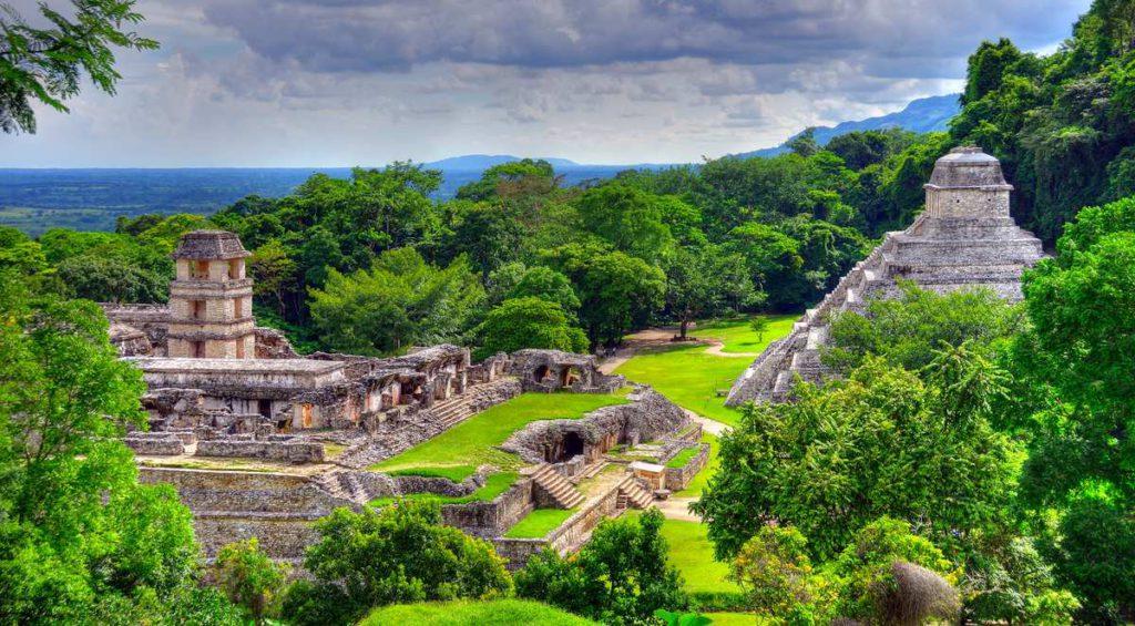 Мексика, пирамиды майя