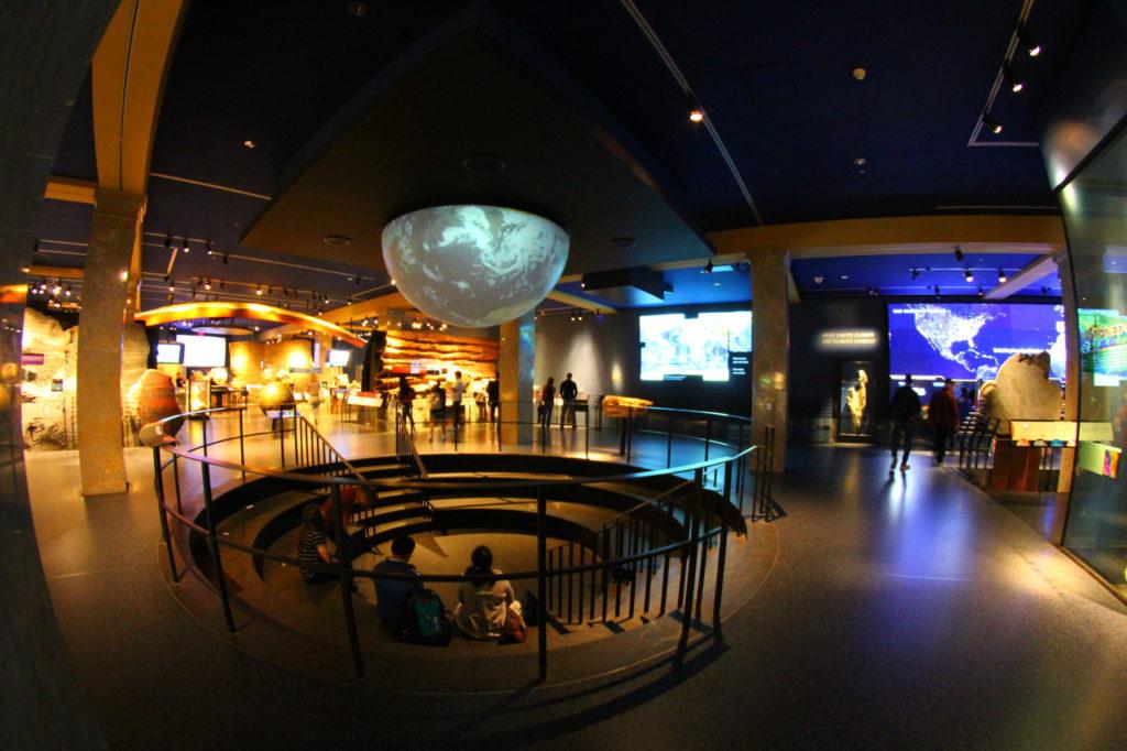 Планетарий Хайдена, Музей естественной истории, Нью-Йорк, США