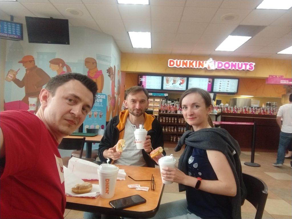 USA, Dunkin Donuts