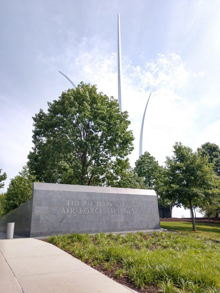 США, Вашингтон, мемориал военно-воздушных сил США