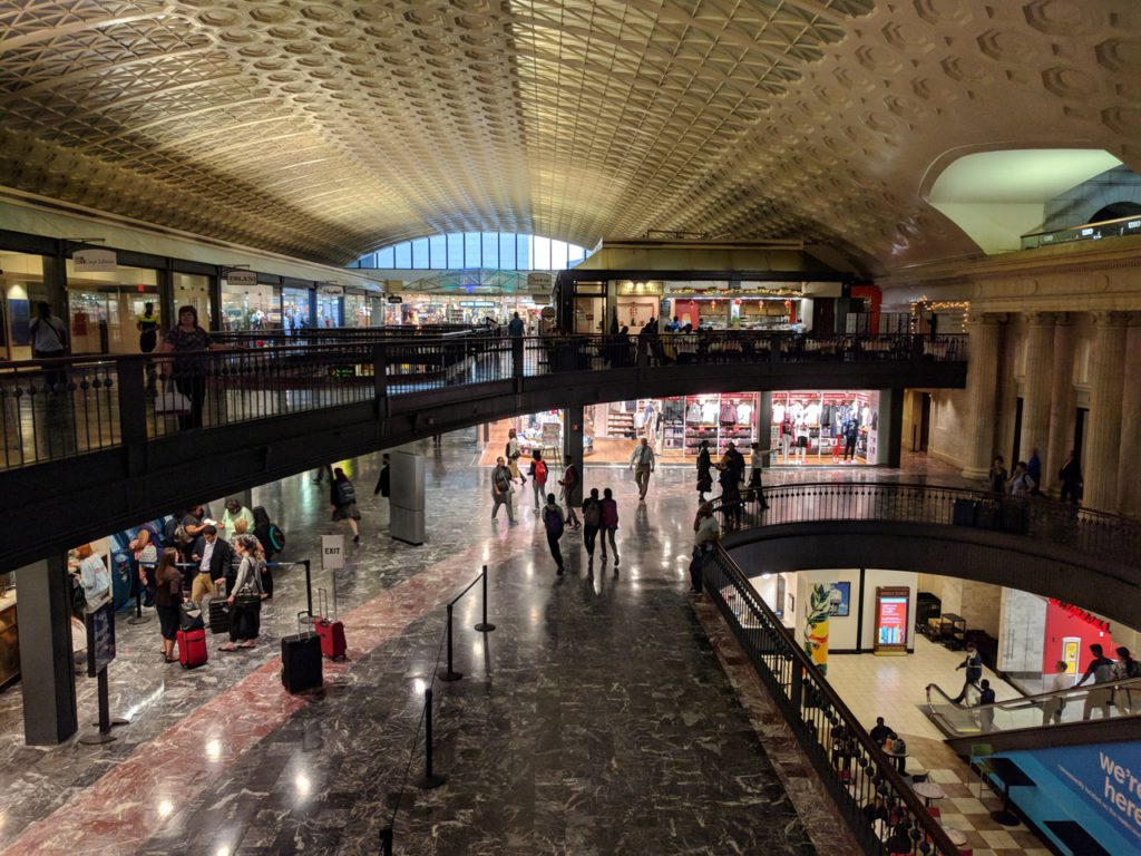 USA, Washington D.C., Union Station
