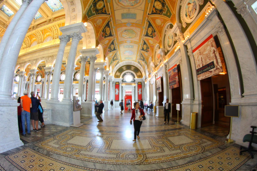 USA, Washington D.C., Library of Congress