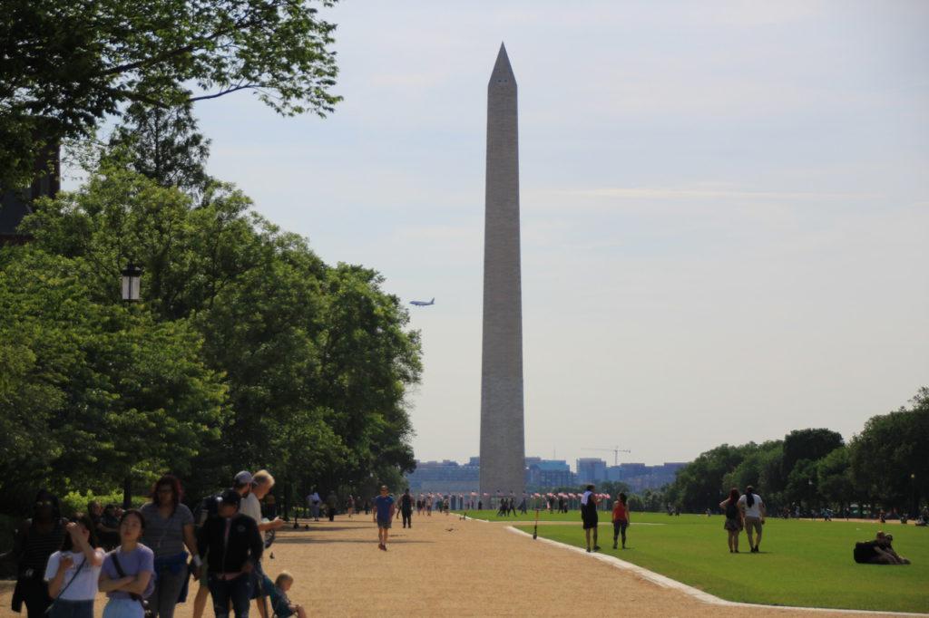 США, Вашингтон, Мемориал Вашингтону