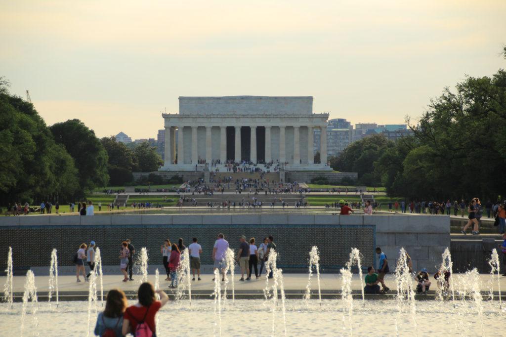 США, Вашингтон, Мемориал Авраама Линкольна