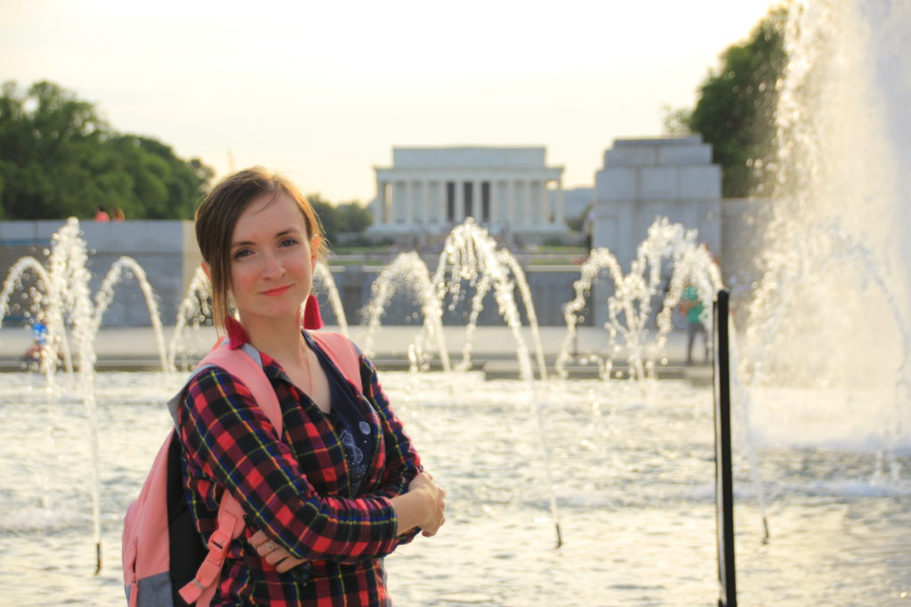 USA, Washigton D.C., Abraham Lincoln Memorial