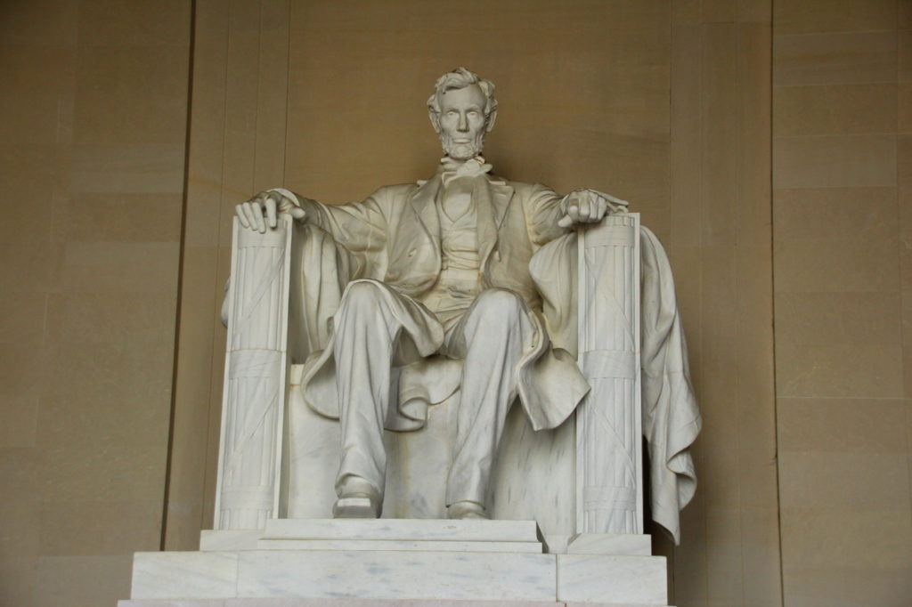 USA, Washington D.C., Abraham Lincoln Memorial