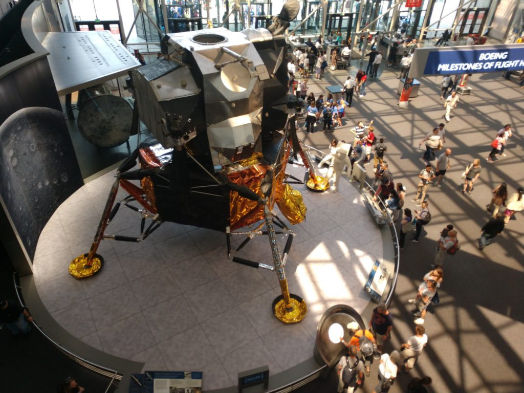 USA, Washington, National Air and Space Museum