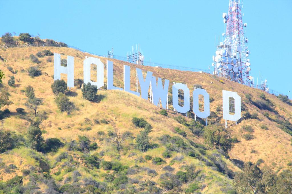США, Лос-Анджелес, знак Голливуд