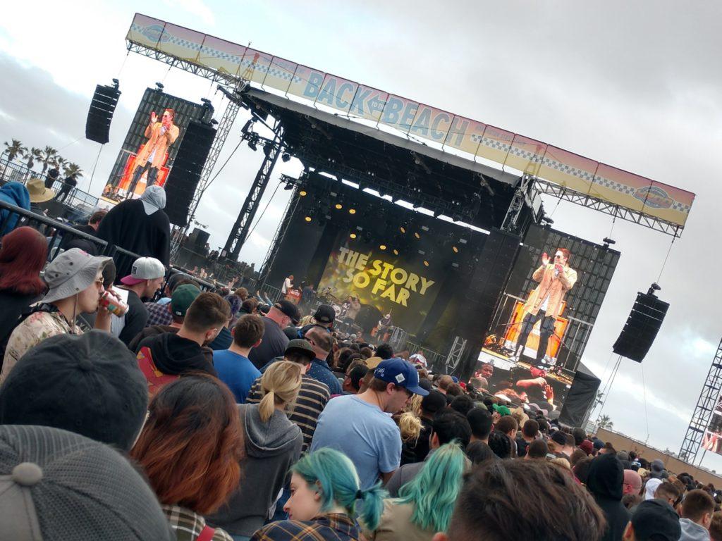 США, Лос-Анджелес, Хантингтон, музыкальный фестиваль Back to the Beach