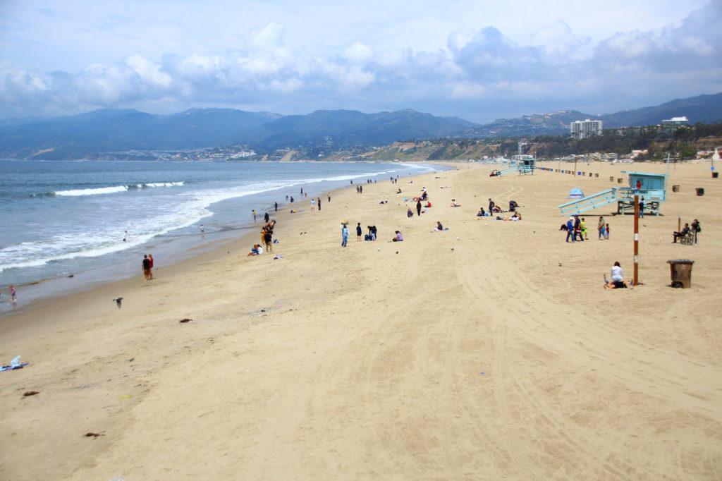 USA, Los Angeles, Santa Monica Pier