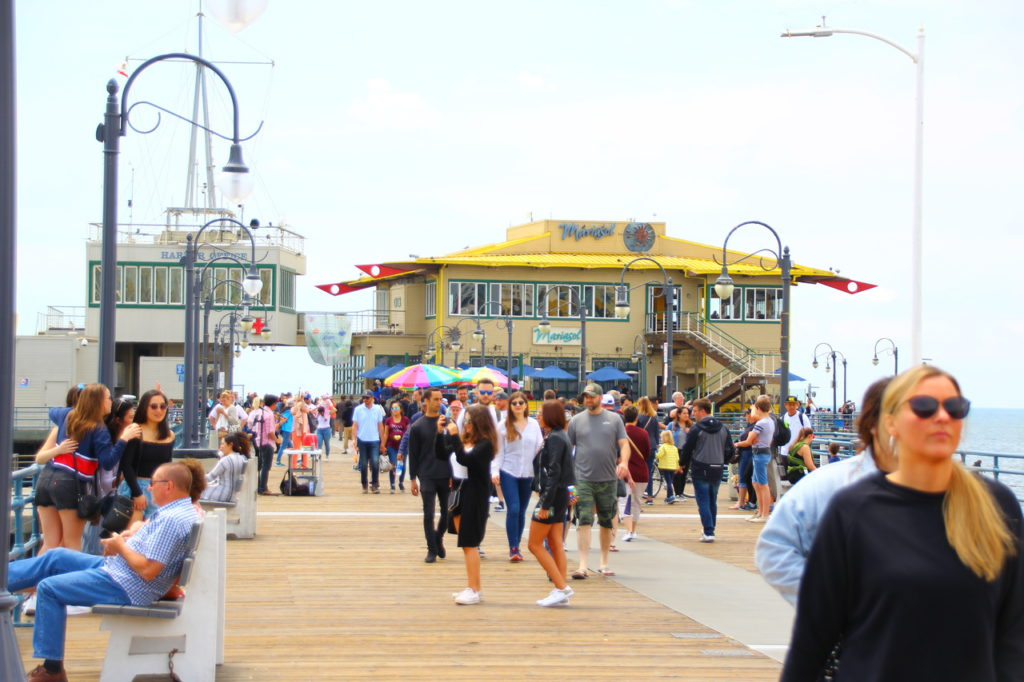 USA, Los Angeles, Santa Monica Pier