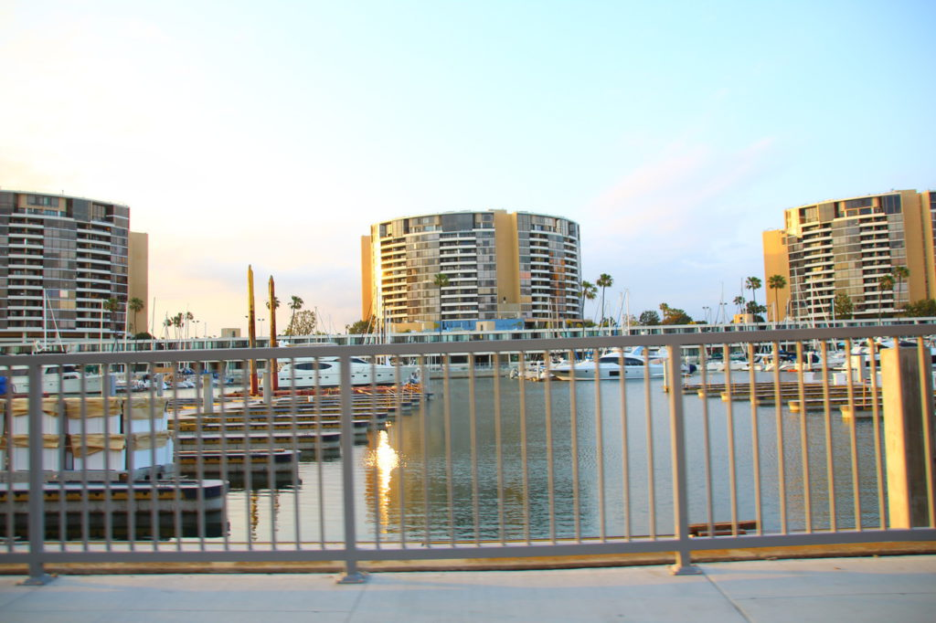 USA, Los Angeles, Marina del Rey Harbor
