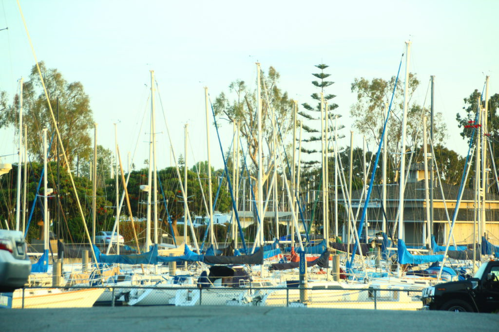 США, Лос-Анджелес, яхт-марина, Венеция