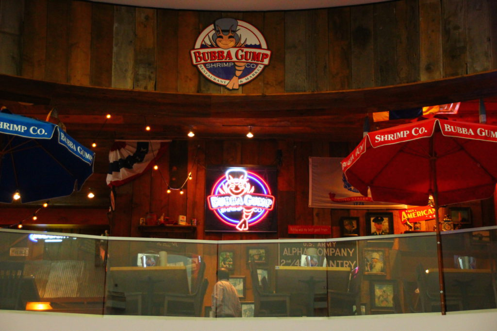 США, Лас-Вегас, ресторан Bubba Gump