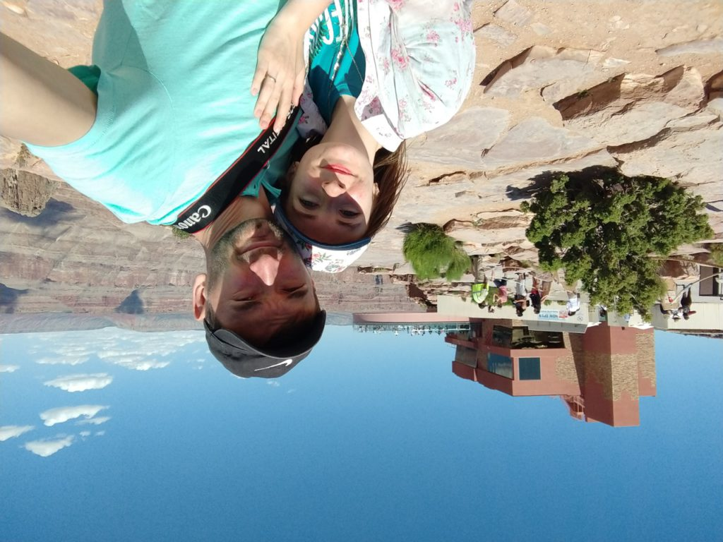 Большой Каньон (Гранд Каньон), смотровая площадка Skywalk, Аризона, СШАБольшой Каньон (Гранд Каньон), смотровая площадка Skywalk, Аризона, США