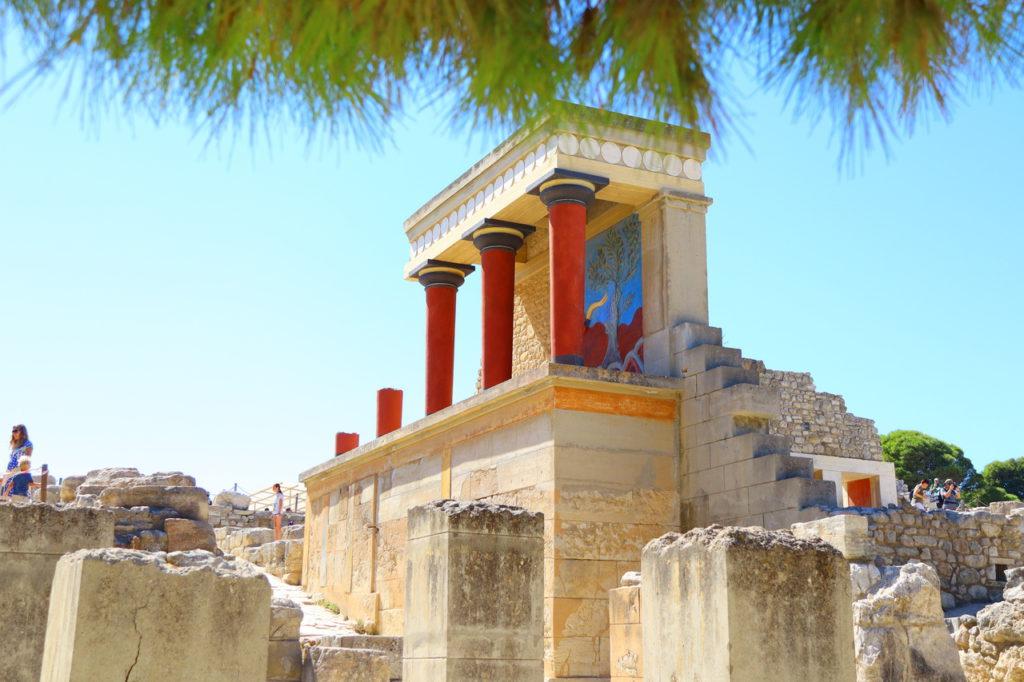 Кносський палац, Греція, Крит